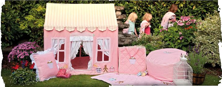 zauberhaft spielzelt gingerbread cottage. Black Bedroom Furniture Sets. Home Design Ideas