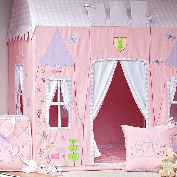Zauberhaft - spielzelt Prinzessinnen Schloss