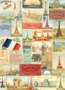 Poster Paris Collage