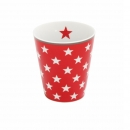 Happy Mug Red Star