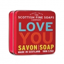 Soap in a Tin Love You
