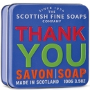 Soap in a Tin Thank You